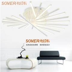 松伟照明 善美系列  客厅灯卧室灯个性现代LED吸顶灯 XD-40W