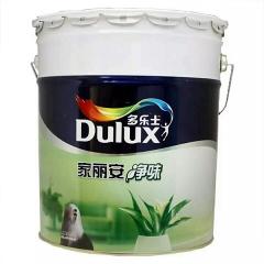 多乐士乳胶漆墙面漆家丽安净味内墙涂料油漆白色面漆 琪宏建材 18L