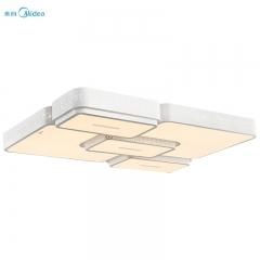 美的照明led吸顶灯调色客厅灯长方形简约现代客厅灯具灯饰 语薇