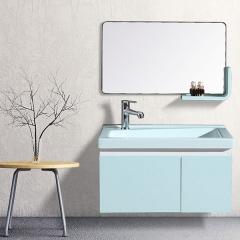 帝王洁具现代简约浴室柜组合PVC卫浴柜洗脸盆柜面盆柜AC3113