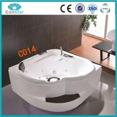 浴缸C014 五件套 普通浴缸 冲浪按摩浴缸 亚克力 实木台阶1.4米 定金