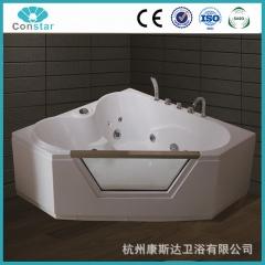 浴缸C028 五件套 普通浴缸 冲浪按摩浴缸 亚克力双人智能恒温浴缸 定金