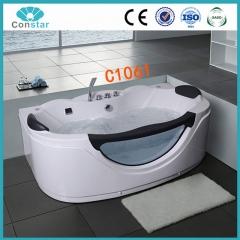 浴缸C1061 冲浪按摩浴缸 亚克力 独立单人浴缸 浴室浴盆 智能恒温 定金