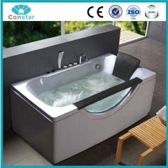 浴缸C08002 五件套 普通浴缸 冲浪按摩浴缸 亚克力 单人独立浴缸 定金