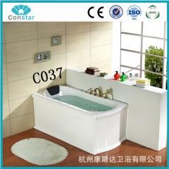 康斯达2016新款 C037冲浪按摩浴缸 亚克力古典浴缸 单人一体浴缸 定金