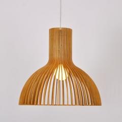 格调 现代简约吧台创意个性咖啡厅楼梯灯具北欧风格木餐厅灯 大号