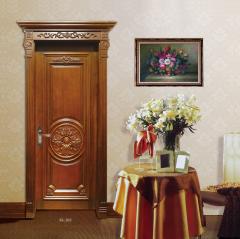 展志鸿运奢华雕花系列定制实木门ZZ-022 图片色 实木 定金