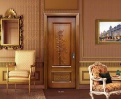展志鸿运奢华雕花系列定制实木门ZZ-064 图片色 实木 定金