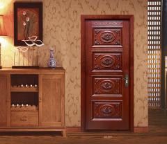 展志鸿运奢华雕花系列定制实木门ZZ-060 图片色 实木 定金