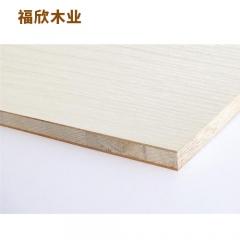 福欣木业板材双面白樱桃生态板 付款方式:定金
