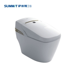 萨米特卫浴爱尔系列快热式(一体)电子坐便器S988A M/L 香槟金 定金