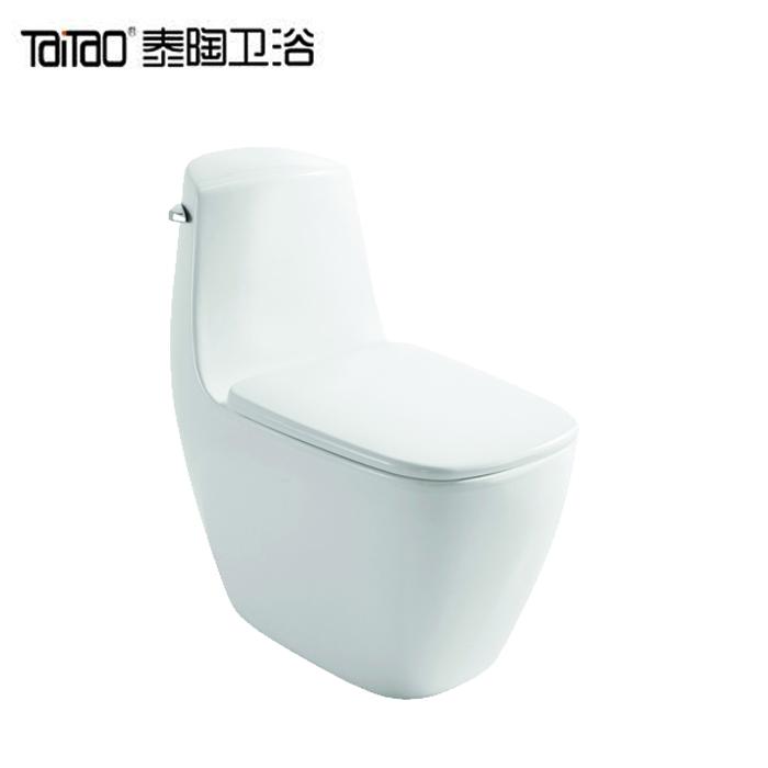 泰陶卫浴  节水环保虹吸式连体座便器  TA-81