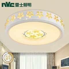 祥发灯饰 雷士照明 LED吸顶灯 卧室书房阳台现代时尚吊顶灯具简约吸顶灯