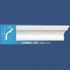 靓点石膏背景墙装饰线条雕花线条素面角线平线LH8803-225