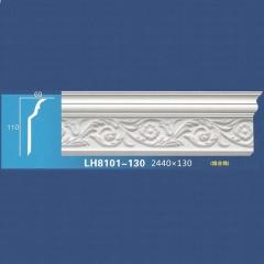 靓点石膏背景墙装饰线条雕花线条素面角线平线LH8101-130