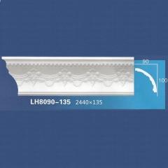 靓点石膏背景墙装饰线条雕花线条素面角线平线LH8090-135