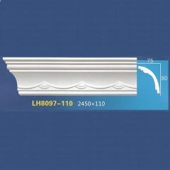 靓点石膏背景墙装饰线条雕花线条素面角线平线LH8097-110