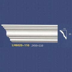 靓点石膏背景墙装饰线条雕花线条素面角线平线LH6020-110