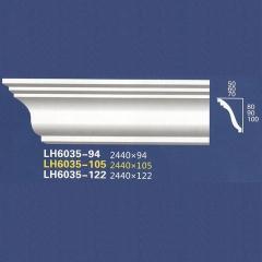 靓点石膏背景墙装饰线条雕花线条素面角线平线LH6035-94