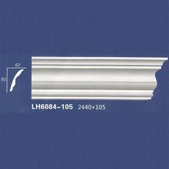 靓点石膏背景墙装饰线条雕花线条素面角线平线LH6084-105