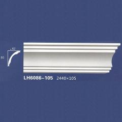 靓点石膏背景墙装饰线条雕花线条素面角线平线LH6086-105