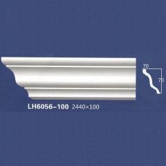 靓点石膏背景墙装饰线条雕花线条素面角线平线LH6056-100