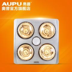 奥普浴霸 多功能三合一嵌入式浴霸灯 卫生间普通吊顶传统灯暖浴霸