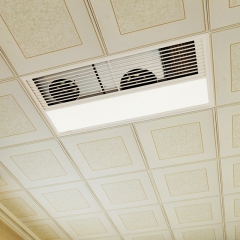 特丽达魔方风暖浴霸 风暖集成吊顶 三合一嵌入式卫生间Led灯