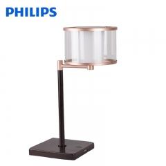 霞光灯饰飞利浦LED装饰台灯桌灯简约现代欧式美式客厅卧室书房床头桌灯
