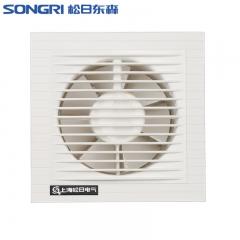 上海松日4寸玻璃窗静音换气扇 卫生间厕所排气扇 厨房墙式排风扇