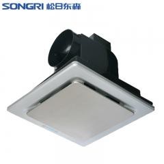 上海松日8寸集成吊顶换气扇 厕所排气扇风机静音不锈钢面排板风扇