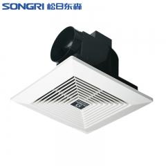 上海松日10寸吊顶排风扇 厨房管道排气扇 卫生间浴室抽气换气扇
