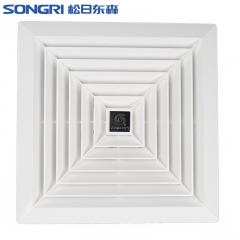 上海松日天花板吸顶直排大功率排风扇 商用直排换气扇 排烟抽风机