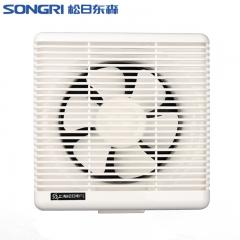 上海松日14寸排风扇厨房油烟排气扇厕所墙壁窗式换气扇浴室抽风机