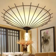 御宝轩现代新中式温馨客厅豪华吸顶灯