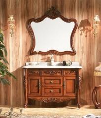 杰琳装饰五金浴室柜系列卫浴间泰国橡木浴室柜6603 定金