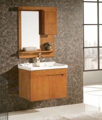 杰琳装饰五金浴室柜系列卫浴间泰国橡木浴室柜6613 定金