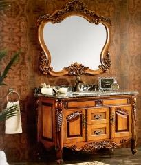 杰琳装饰五金浴室柜系列卫浴间泰国橡木浴室柜605 定金