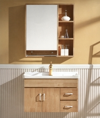 杰琳装饰五金浴室柜系列卫浴间泰国橡木浴室柜652 定金