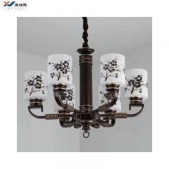 现代新中式吊灯 仿古中国风 客厅书房卧室餐厅酒店别墅工程灯新品6999-6