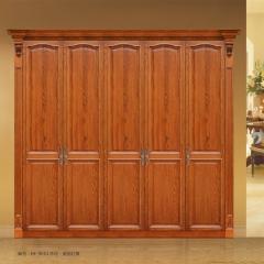 惠丰衣柜HF-9053实木衣柜现代新中式实木卧室家具 图片色 实木 五门 定金