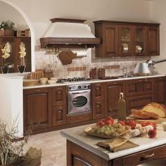 雅居乐家居橱柜 整体橱柜定制 橱柜厨房厨柜订做 现代简约欧洲环保红橡实木 红橡木 定金