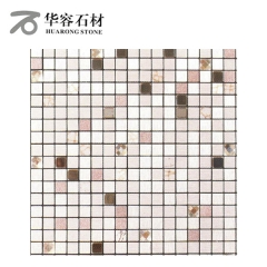 华容石材卫生间浴室背景墙马赛克CD-407