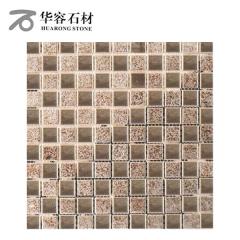 华容石材卫生间浴室背景墙马赛克CD-141