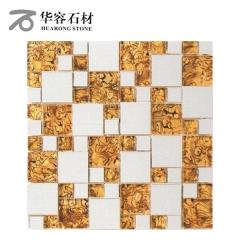 华容石材卫生间浴室背景墙马赛克CD-316