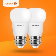 欧司朗照明  LED灯泡3.3W小球泡两只装led单灯照明长寿耐用E27螺口 定金