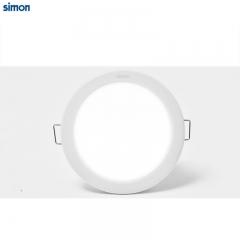 西蒙照明LED筒灯3寸4W6W超大照射面开孔7.5-8.5筒灯嵌入式灯具 定金