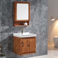 意玛卫浴实木浴室柜定制卫生间浴室柜D-702 天恩卫橱 定金
