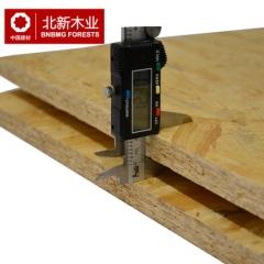 北新欧松板超E0级环保德国进口OSB 定向结构板装饰家具用板12mm厚 咨询客服