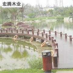 宏腾木业 承接各类景观工程 地板/浮桥系列2 定金